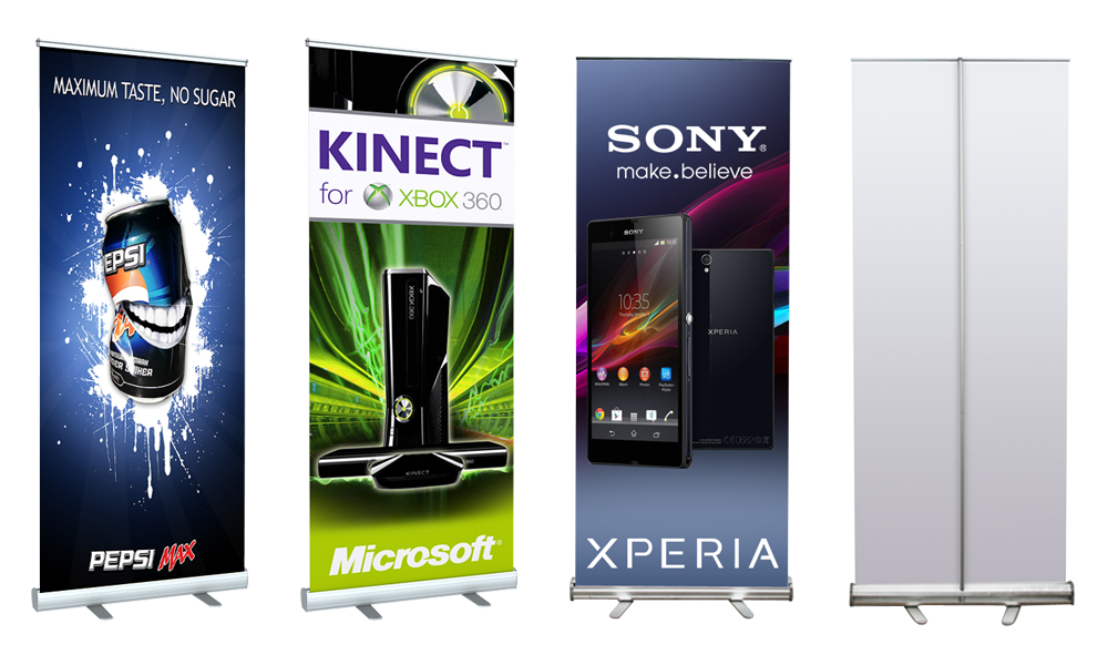 Roll Up Banners Stands Retractable Banner Stand