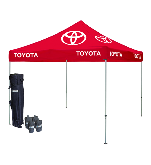 Logo Printed Tent Packages