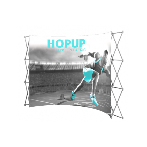 Hopup 8ft Popup Display (Curve)
