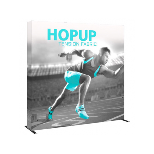 Hopup 8ft Popup Display With Endcap (Straight)