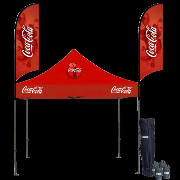 Custom Printed Tents Package - 16