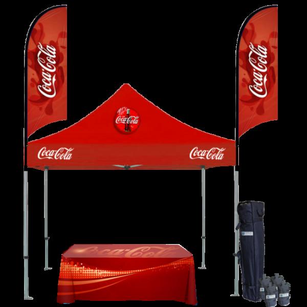 Custom Printed Tents Package - 14