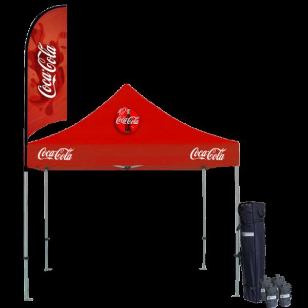 Custom Printed Tents Package - 15