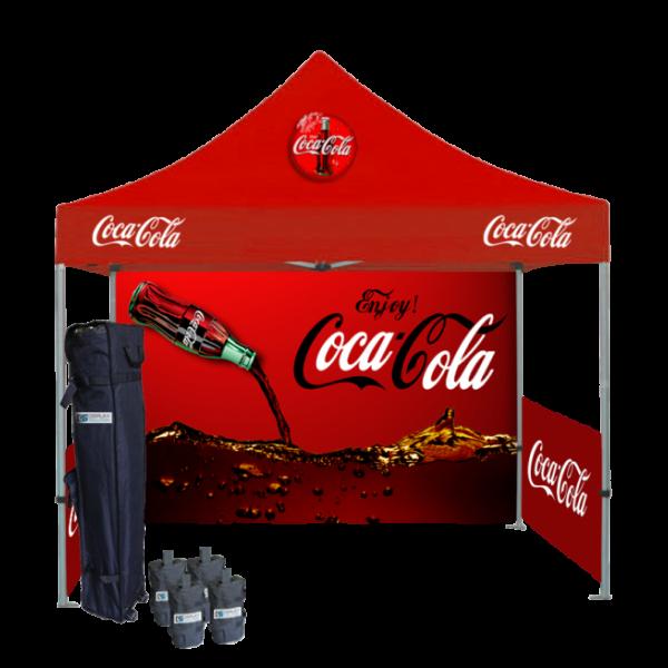 Custom Printed Tents Package - 3
