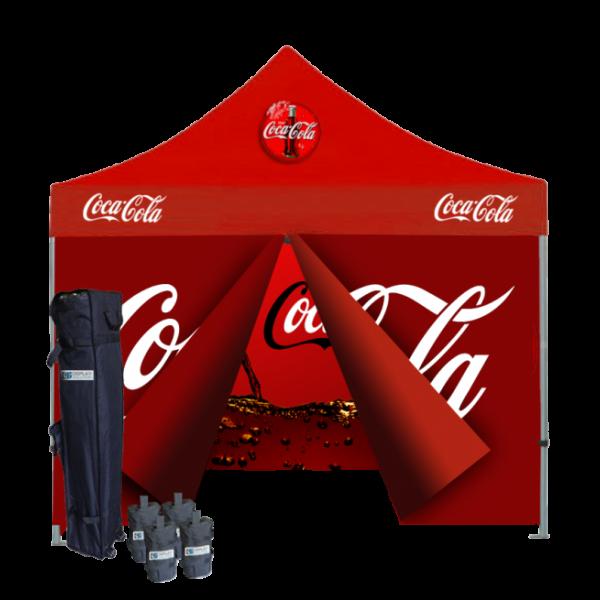 Custom Printed Tents Package - 5