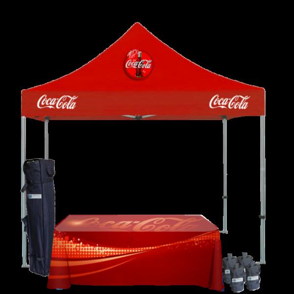 Custom Printed Tents Package - 9