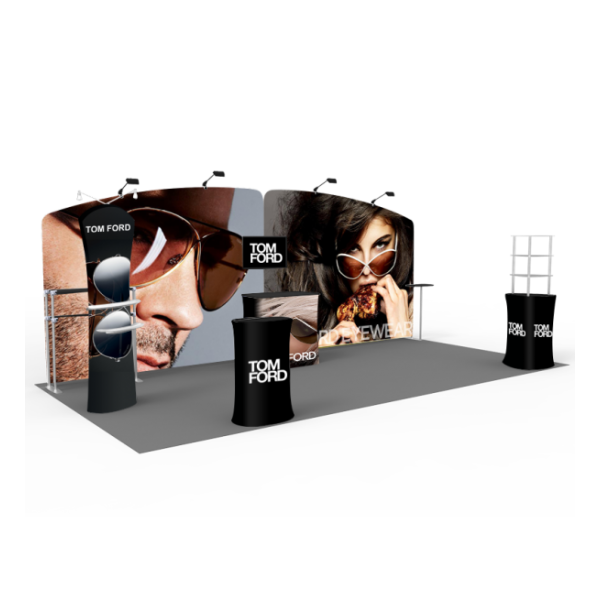 20ft Trade Show Booths- Series F
