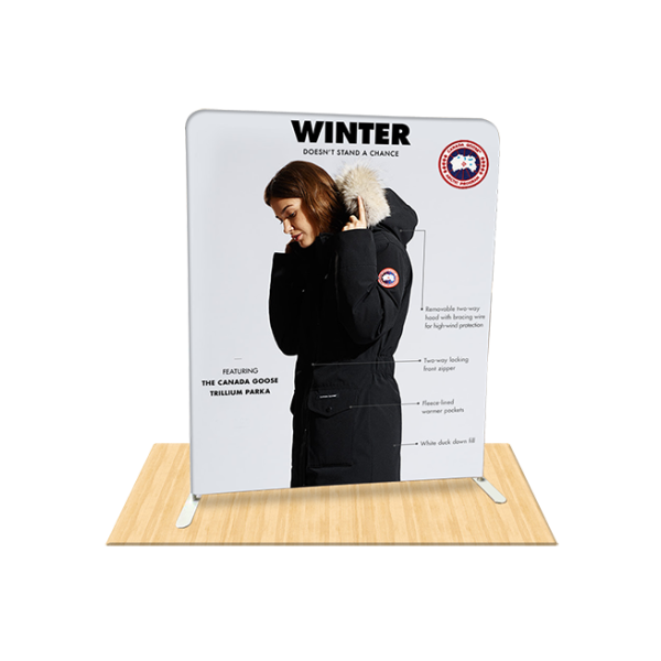 6ft Straight Tension Fabric Display