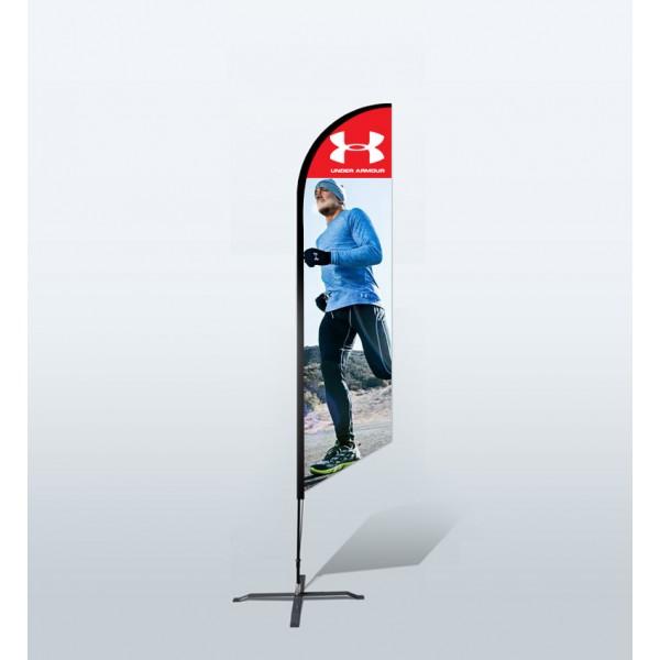 10ft Custom Angled Flags (Medium)