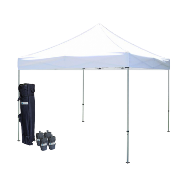 Deluxe blank canopy tents canopy tents for Steel frame tents