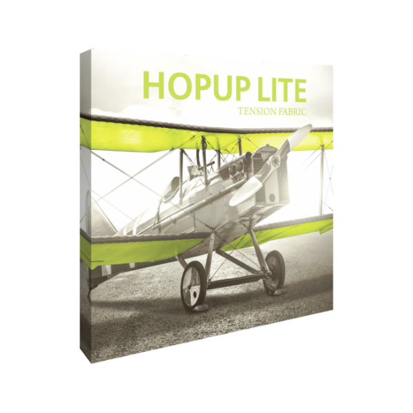 Hopup Lite 8ft Popup Display With Endcap (Straight) 1