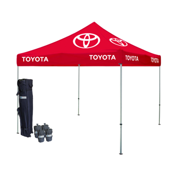Logo Printed Tent Package #1