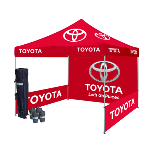 Logo Printed Tent Package #3