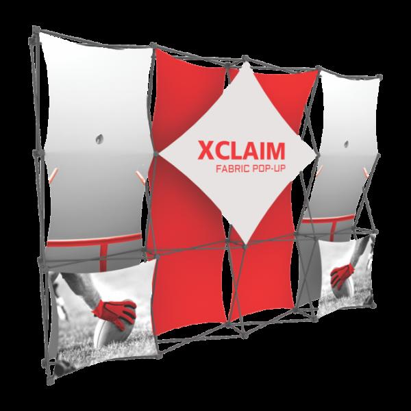 Xclaim 10ft Fabric Popup Display Kit 01