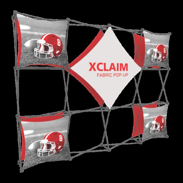 Xclaim 10ft Fabric Popup Display Kit 02