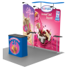 10ft Trade Show Booth - Series R (Straight) 2