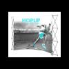 Hopup 10ft Popup Display (Curve) 1