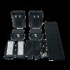 Heavy Duty Wheels Case Oval COMPONENTS