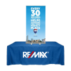 """24"""" X 60"""" Table Top Mini Banner Stand With Graphics"""