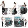 Hopup 2.5ft Popup Display With Endcap Set Up