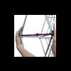 Hopup 8ft Popup Display With Endcap(Curve) Frame Set Up