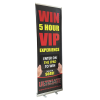 "24"" Retractable Banner Stand With Graphic"