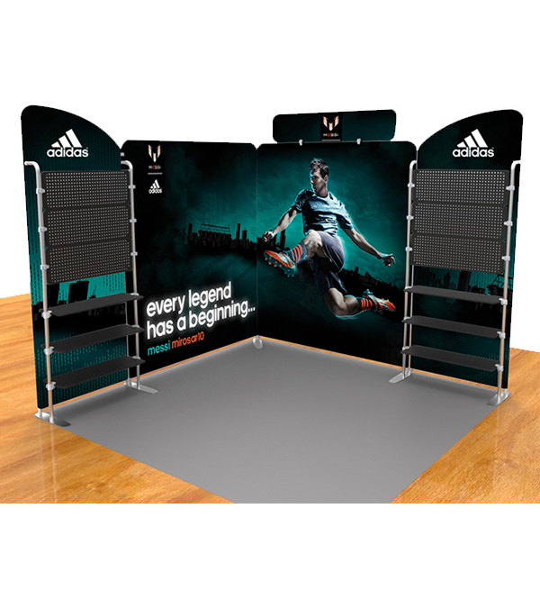 10ft Trade Show Displays - Series Q (Straight)