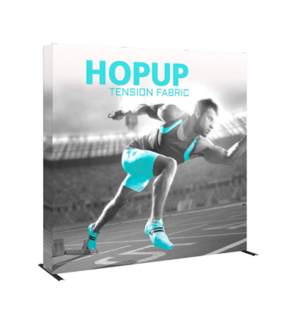Hopup 8ft Popup Display With Endcap (Straight)1