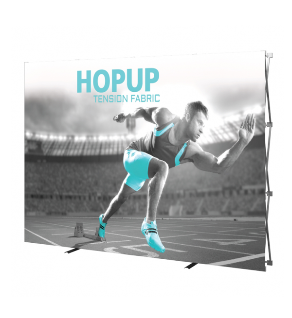 Hopup 10ft Popup Display (Straight) 1