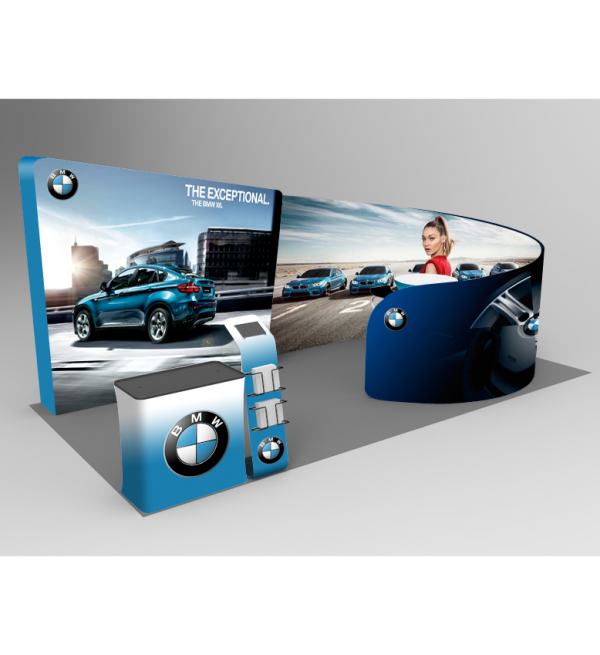 20ft Trade Show Displays - Series C