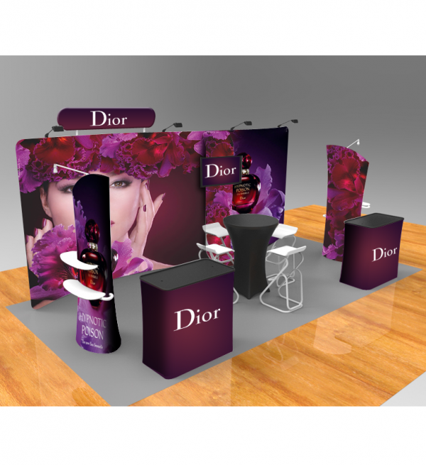 20ft Popup Booth - Series D