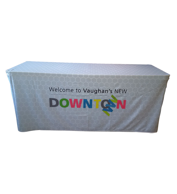 4 Sided Fitted Custom Full Color Table Cover 2