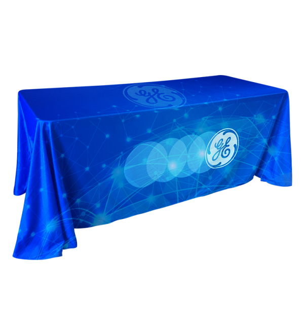 4 Sided Custom Full Color Table Cover