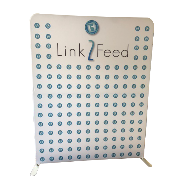 6ft Straight Tension Fabric Display 3