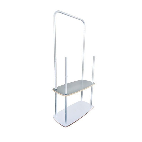 Backwall Display Rack Frame Structure