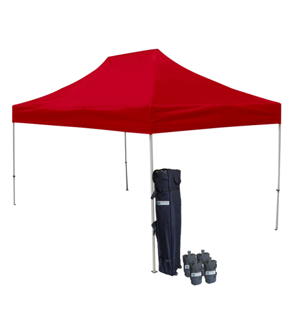 reputable site f1f98 71c3b 10' W X 15' H Canopy Tent With Aluminum Frame 40mm (Commercial Grade) - Red
