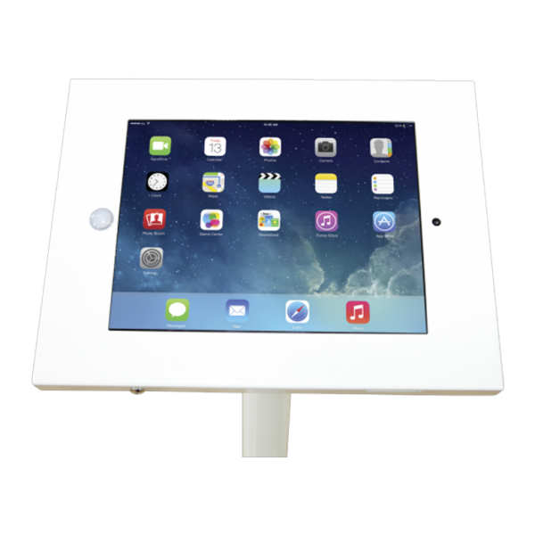 Freestanding iPad Stand Top View