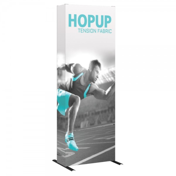 Hopup 2.5ft Popup Display With Endcap (Straight) 2