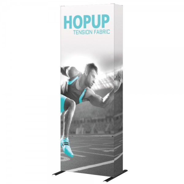 Hopup 2.5ft Popup Display With Endcap (Straight) 1
