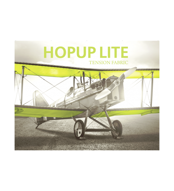 Hopup Lite 10ft Popup Display (Straight) 2