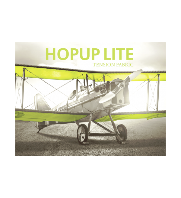 Hopup Lite 10ft Popup Display With Endcap (Straight) 2