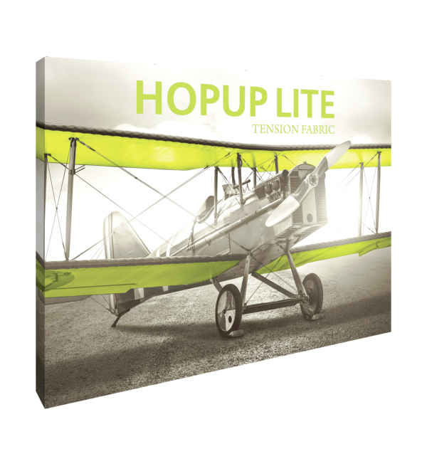 Hopup Lite 10ft Popup Display With Endcap (Straight) 1