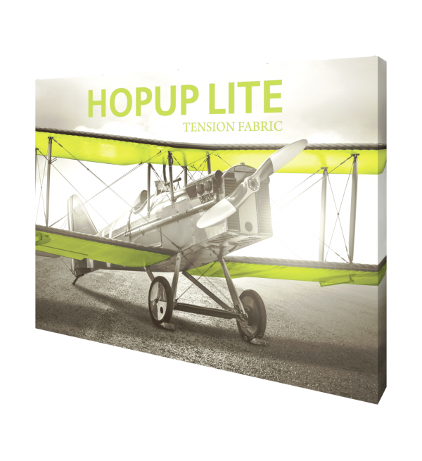 Hopup Lite 10ft Popup Display With Endcap (Straight) 3