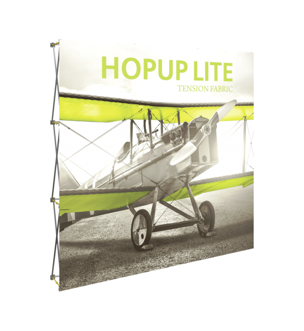 Hopup Lite 8ft Popup Display (Straight) 1