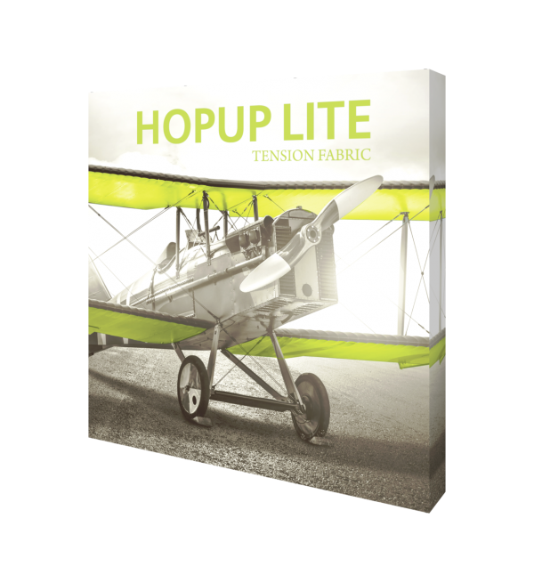 Hopup Lite 8ft Popup Display With Endcap (Straight) 3