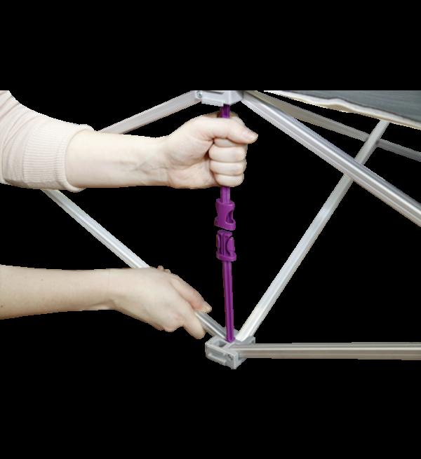 Fabric Counter - Hopup Series Frame  Set Up 1