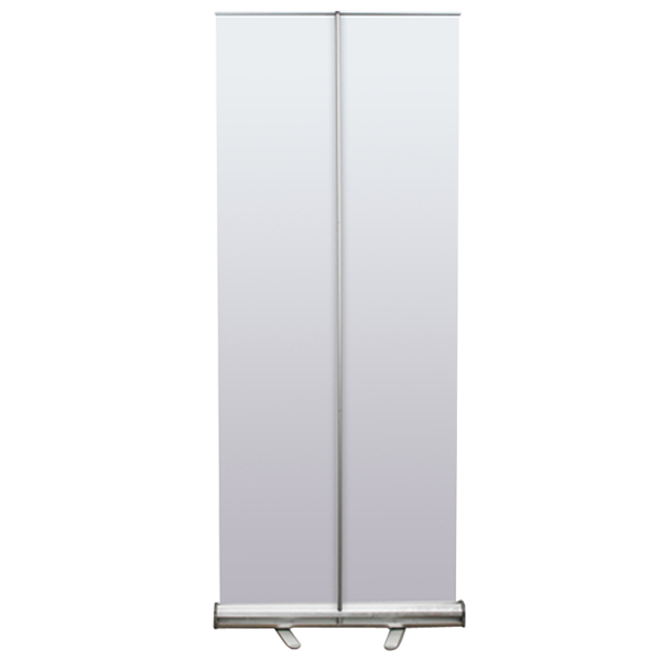 "33"" Retractable Banner Stand with Graphic 3"