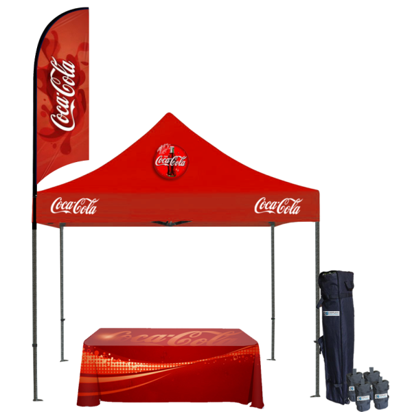 Custom Printed Tents Package - 17
