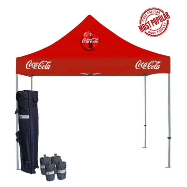 Custom Printed Tents Package - 1
