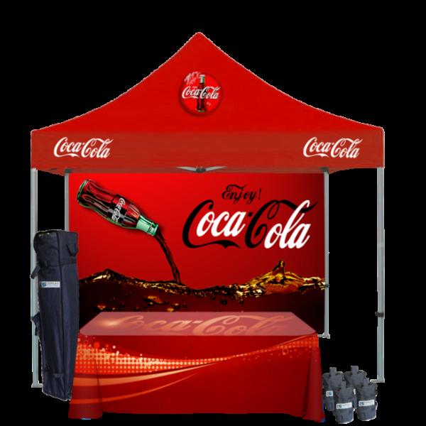 Custom Printed Tents Package - 10